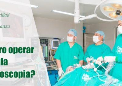 ¿Es seguro operar la vesícula por laparoscopia?