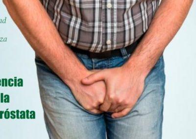 La incontinencia después de la cirugía de próstata
